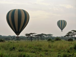 Serengeti National Park - balloon safari