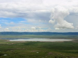 Tanzania's destinations - View from the Ngorongoro Crater Rim into the Ngorongoro Crater